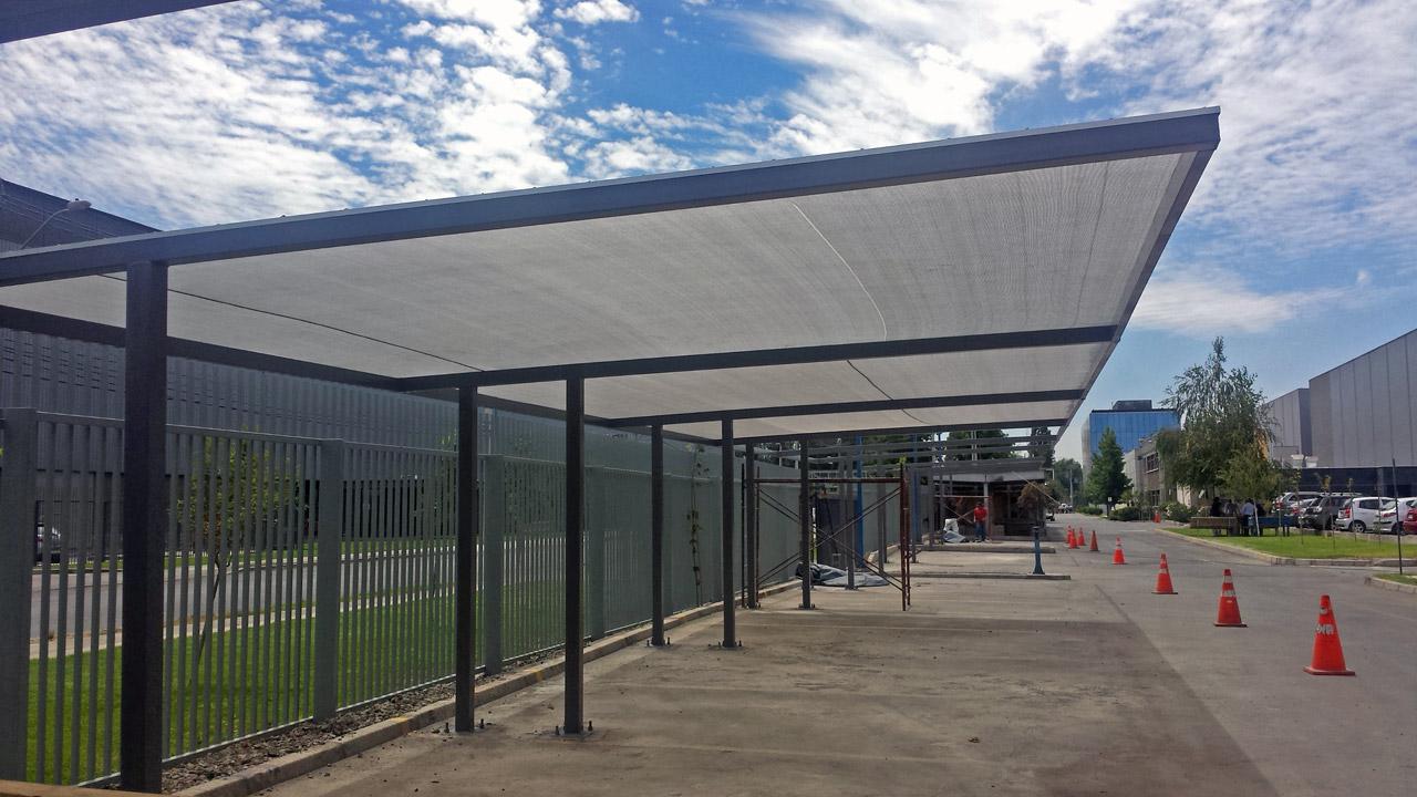 Techos para estacionamientos boldtex for Modelos de gibson para techos